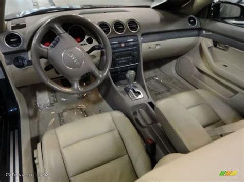 Beige Interior 2005 Audi A4 3.0 quattro Cabriolet Photo #57480901 GTCarLot.com