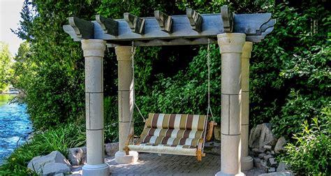 tuscan pergola tuscany style western timber frame