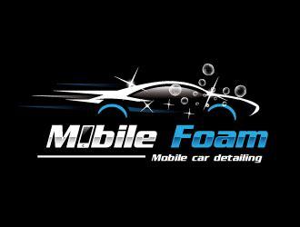 Auto Detailing Logo Ideas by Precision Auto Detailing Mobile Wash Logo Design
