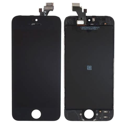 iphone 5 lcd screen digitizer aaa black tes limited