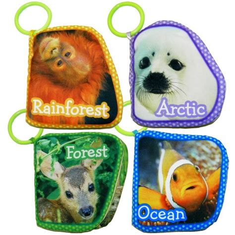 Soft Book With The Animals On Tree softplay baby animals of the world soft cloth book topias harilana