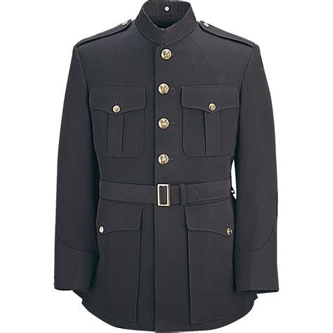 Dress Blazer Marun usmc style single breasted officer dress blue coat