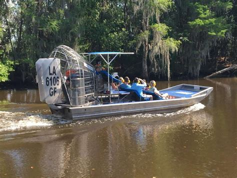 fan boat rides new orleans new orleans airboat sw tours