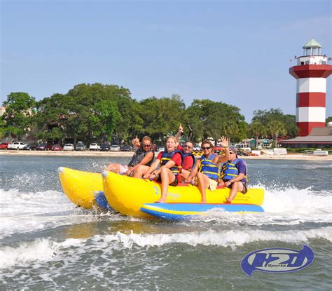 banana boat banana boat rentals on hilton head island wild ride on the