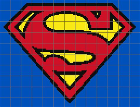 superman logo crochet pattern free embroidery pattern cake ideas and designs