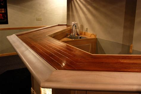 How Is A Bar Top Coat Wood Bar Top Page 7 Avs Forum Home Theater
