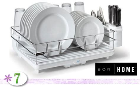 How To Make A Wine Rack In A Kitchen Cabinet Closed Grateful Giveaways 7 Bonhome Dish Drying Rack