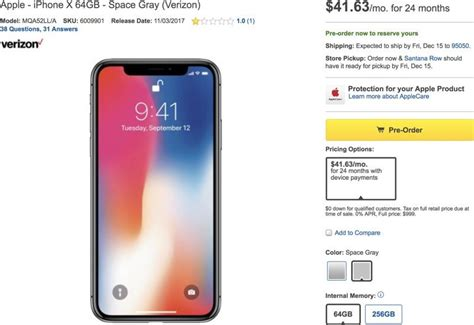 iphone best price best buy selling iphone x on installment plan only after