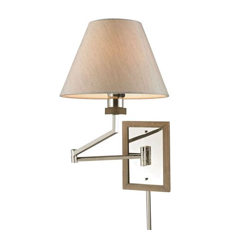 swing arm lights home depot home decorators collection 1 light polished brass swing