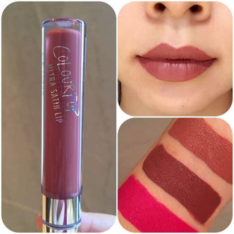 Frick N Frack Ultra Satin Lip Colourpop colourpop cosmetics haul 4 bellyrubz