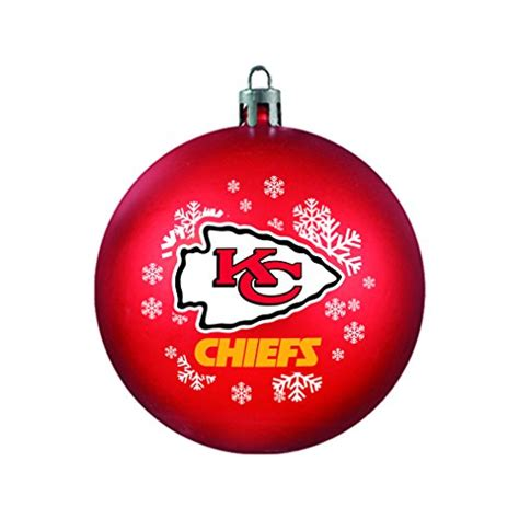 chiefs tree ornaments kansas city chiefs tree ornament