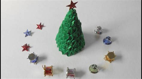 quilling christmas tree xmas special tutorial youtube