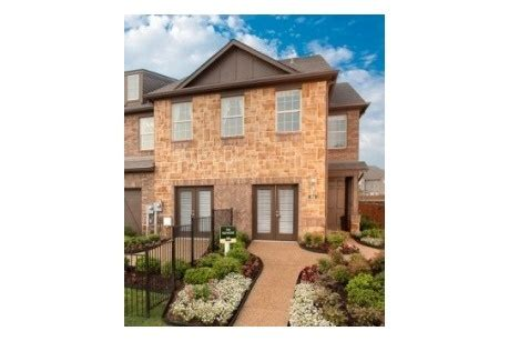 Townhome Apartments Lewisville Tx Rockbrook Townhomes By Ashton Woods Homes In Lewisville