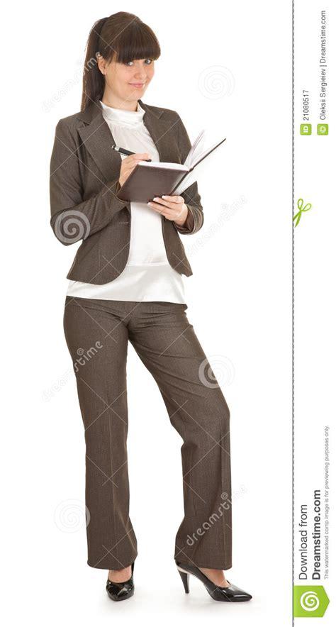 abbigliamento ufficio donna giovane donna in abbigliamento dell ufficio fotografia