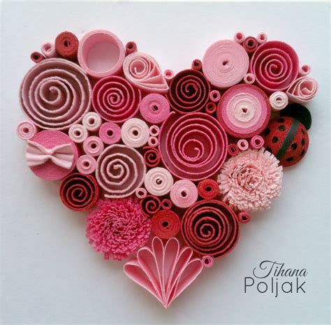Paper Quilling Roses - quilled quilling quilling