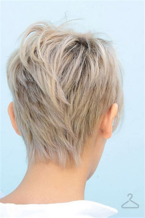 short hairstyle back view images short haircuts back view