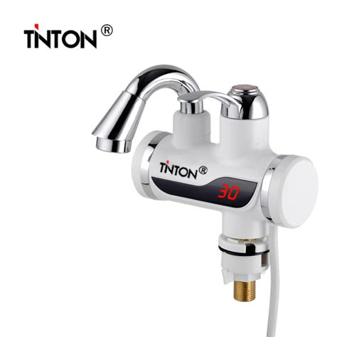 Small Water Heater For Kitchen 3sec Instant Tankless Electric Water Heater Faucet