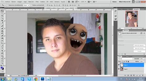 imagenes hechas con el photoshop cs5 hd youtube en tutorial photoshop cs5 remplazar rostro por un meme en la