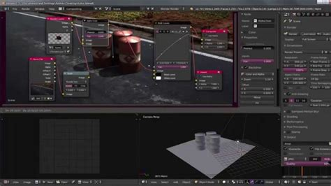 membuat video animasi di blender cara membuat pagar sederhana di blender 3d versi on the spot