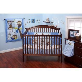 Monkey Crib Bedding Sets For Boys Bedding By Nojo 3 Monkeys Boys 10pc Crib Set Baby Bedding Bedding Sets