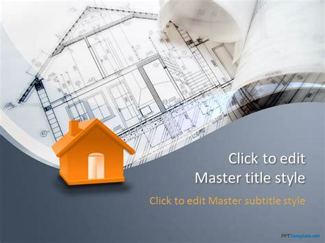 Free Cost Ppt Templates Ppt Template Powerpoint Templates Building Construction