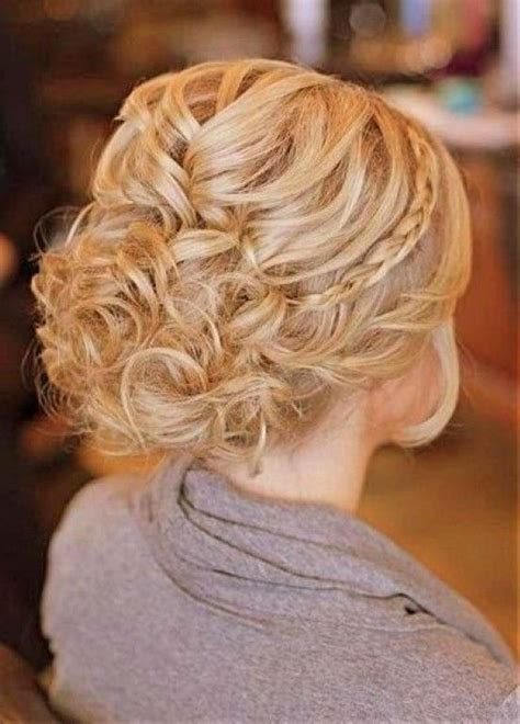image result for updos for medium length curly hair braids n updos prom hair bridesmaid