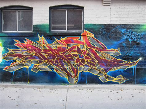 graffiti   energetic flow scene