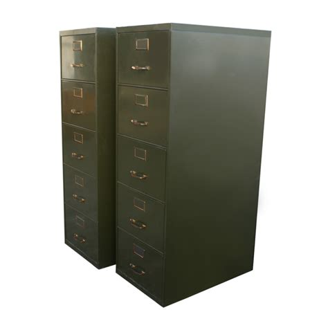 5 drawer metal file cabinet metal cabinet with drawers 1 18 quot x28 quot vintage 5