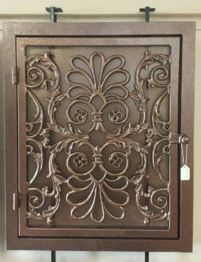 decorative wrought iron vent cover babylon style