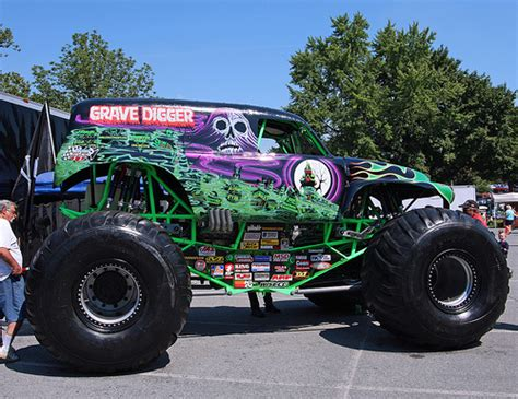 Truck Wheels Grave Digger Grave Digger Xix Truck Flickr Photo