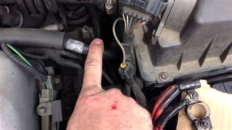 clean  battery ground connection   car ford focus youtube
