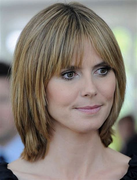 hairstyles 2017 medium length with bangs medium length layered bob haircuts with bangs hairstyle