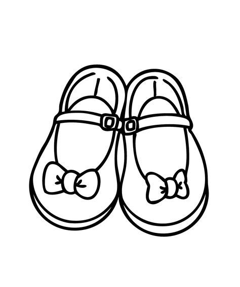 coloring shoes shoes coloring pages coloringsuite