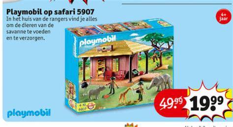 playmobil safari huis playmobil wildlife folder aanbieding bij kruidvat details