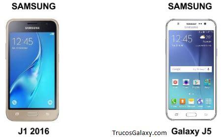 Samsung J1 Vs J5 Diferencias De Samsung J1 Y J5 Trucos Galaxy