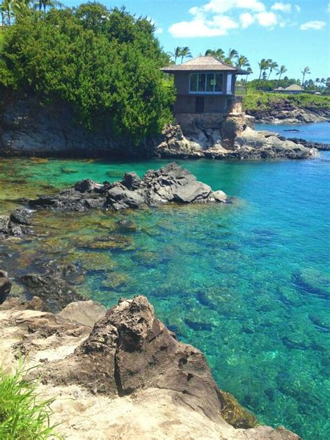 cliff house maui went to cliff house on maui beautiful place to jump off rocks swim snorkel clear