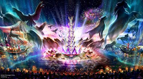 The River Of Lights by Disney Shares Details Of Rivers Of Light Sunset