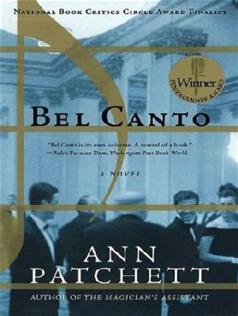 Pdf Bel Canto P S Patchett by Bel Canto By Patchett