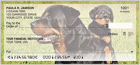 rottweiler personal checks rottweiler checks sams club