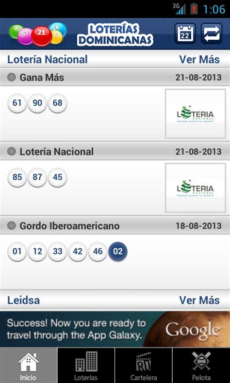 loteriasdominicanascom lotera nacional leidsa lotera loter 237 as dominicanas android apps on google play