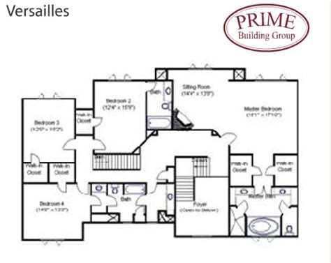 versailles floor plan the versailles home plans is available to build on your