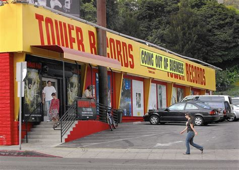 Records In Louisiana Gibson To Open Store At Former Tower Records Site In West La Times