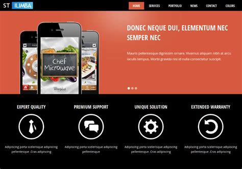drupal themes for business ilimba drupal 7 theme for business and corporate