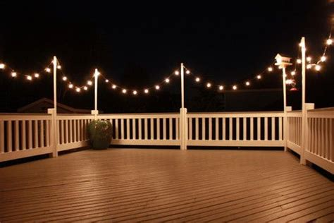 deck lights garage pinterest