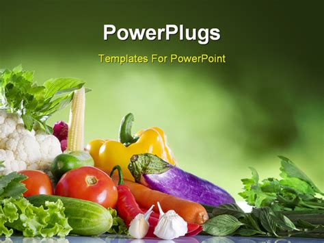 powerpoint templates vegetables fruits and vegetables background for powerpoint www