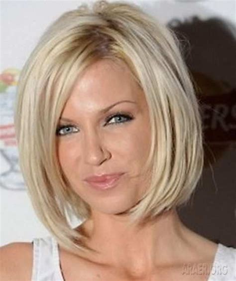 skinny bob haircut hairstyles cuts for medium length straight fine thin hair