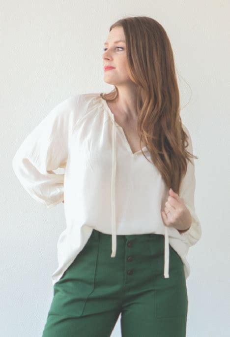 Blouse Matcha Top style maker fabrics design create