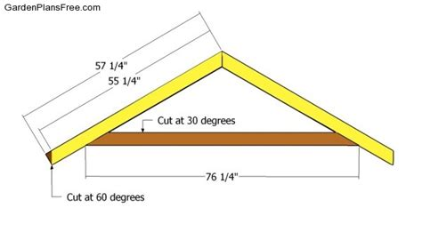 garden shed roof plans free garden plans how to build
