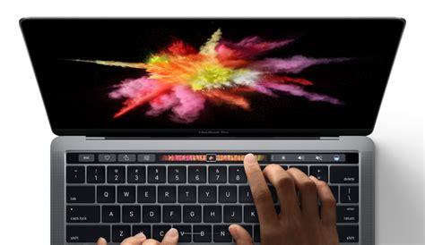 Macbook Pro Touch apple revs macbook pro lineup adds touch bar