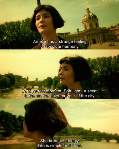 film stills quotes cinematheia art cinema films triviaamelie 2001